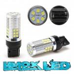 LED Metalsockel W21W T20 7440 30x3030 SMD Weiß 100 % Canbus Inside