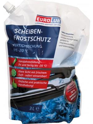 Eurolub Scheibenfrostschutz Mountainfresh Fertigmischung -20 °C 3l Beutel