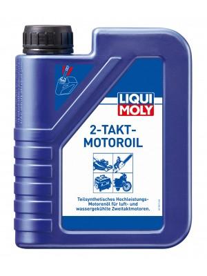 Liqui Moly 2-Takt-Motoroil selbstmischend teilsynthetisches Motorrad Motoröl 1l