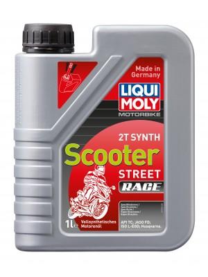 Liqui Moly Motorbike 2T Synth Scooter Street Race vollsynthetisches Motorrad Motoröl 1l