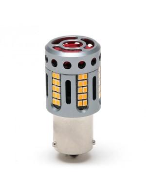 S9 LED 100% Canbus Birne Lampe PY21W Bau15s 1950 Lumen Orange