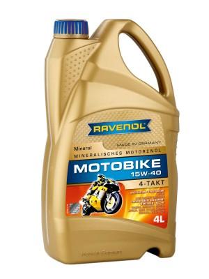 Ravenol Motobike 4-T Mineral 15W-40 Motoröl 4l