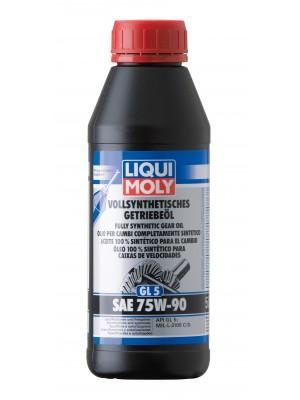 Liqui Moly 1413 Vollsynthetisches Getriebeöl (GL5) SAE 75W-90 500ml