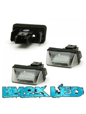 LED Modul Kennzeichenbeleuchtung Citroen / Peugeot