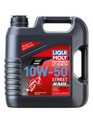 Liqui Moly Racing Synth Street Race 4T 10W-50 Motorrad Motoröl 4l