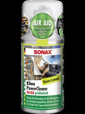 SONAX KlimaPowerCleaner AirAid Green Lemon 100 ml