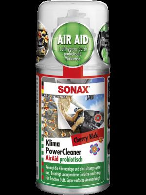 SONAX KlimaPowerCleaner AirAid probiotisch Cherry Kick NEU 100 ml