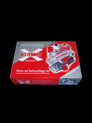 S100 Premium Kettenmax Set (Kettenpflegeset) inkl. Kettenreiniger für Kettenmax 250ml und Weißes Kettenspray 100ml