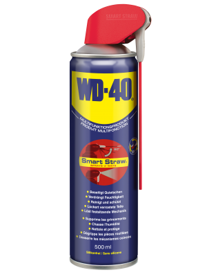 WD-40 500 mL Smart Straw™ Multifunktionsöl