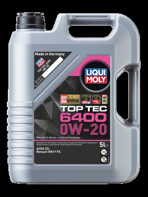 Liqui Moly 21585 Top Tec 6400 0W-20 5l