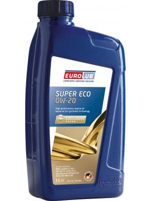 Eurolub Motoröl SUPER ECO SAE 0W-20 1 Liter Flasche