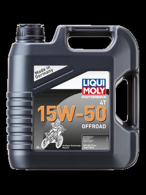 Liqui Moly 3058 Motorbike 4T 15W-50 Offroad 4l