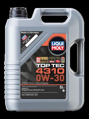 Liqui Moly 3736 Top Tec 4310 0W-30 Motoröl 5l