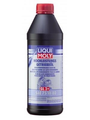 Liqui Moly Hochleistungs Getriebeöl GL3+ SAE 75W-80 1l