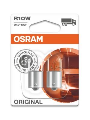 Osram R10W 24V 10W BA15s 2st. Blister Osram