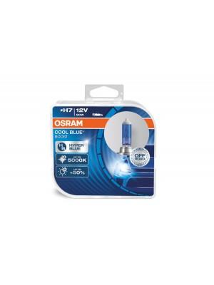 H7 12V 80W PX26d COOL BLUE BOOST 5000K + 50% 2 st. Osram (NO ECE ) BLUE Hyper 2st. (NO ECE)