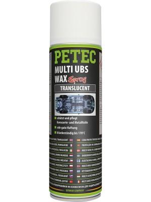 Petec Multi UBS WAX transparent 500ml Spray