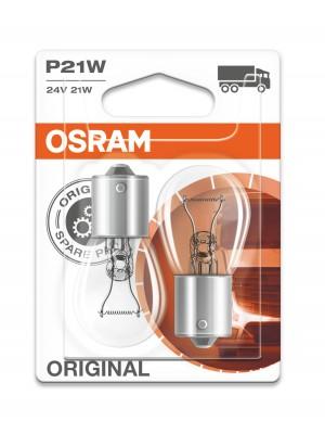 Osram P21W 24V 21W BA15s 2st. Blister Orginal Osram