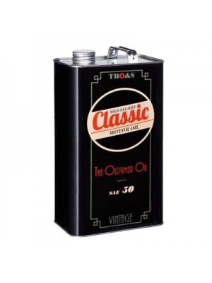 TBO&S Classic Motoröl SAE 50 - mild legiert für Oldtimer 5 Liter
