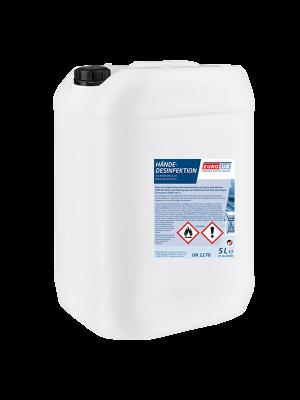 EUROLUB Händedesinfektion Desinfektionsmittel 25 Liter Kanister