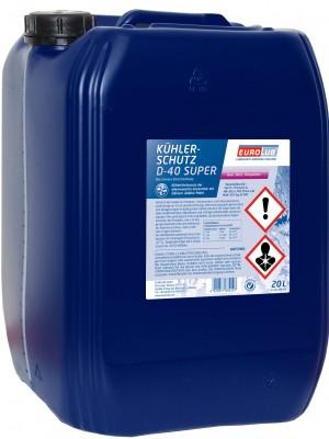Eurolub Kühlerfrostschutz D-40 Super Konzentrat 20l Kanister