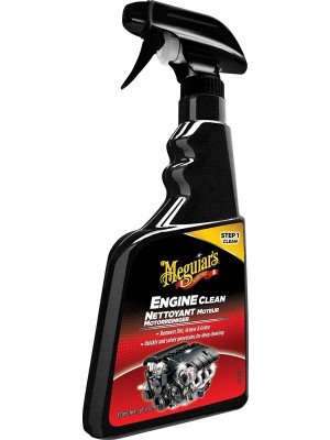 Meguiars MOTORREINIGER Engine Clean Spray à 473 ml