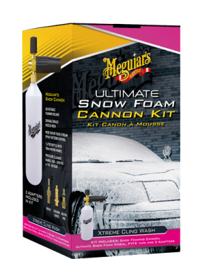 Meguiars Ultimate Snow Foam Cannon Kit 946ml Reinigungschaum + Schaumkanone Set