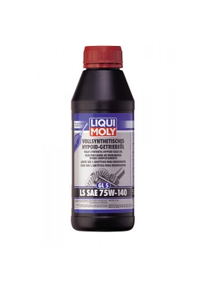 Liqui Moly 4420 Vollsynthetisches Hypoid-Getriebeöl (GL5) LS SAE 75W-140 500ml