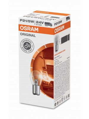 OSRAM 7537 Original P21/5W 24V Folding Box