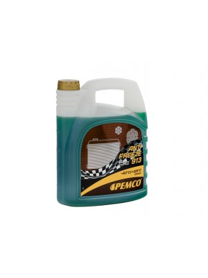 Pemco Kühlerfrostschutz Antifreeze 913 (-40)Hightec Fertigmischung 5l Kanister