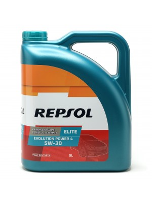 Repsol Motoröl ELITE EVOLUTION POWER 4 5W30 5 Liter