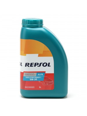 Repsol Motoröl ELITE EVOLUTION POWER 1 5W30 1 Liter