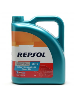 Repsol Motoröl ELITE EVOLUTION LONG LIFE 5W-30 5 Liter