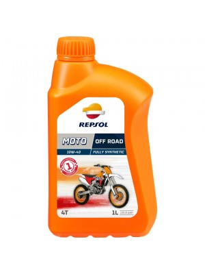 Repsol Motorrad Motoröl MOTO OFF ROAD 4T 10W40 1 Liter