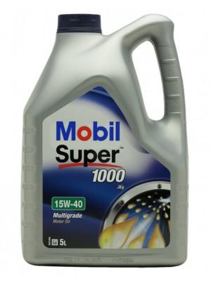 Mobil Super 1000 X1 15W-40 Motoröl 5l