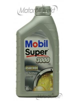 Mobil Super 3000 X1 5W-40 Motoröl 1l