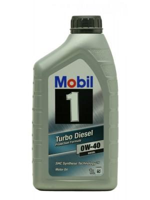 Mobil 1 Turbo Diesel 0W-40 Motoröl 1l