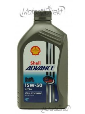 Shell Advance Ultra 4T 15W-50 Motorrad Motoröl 1l