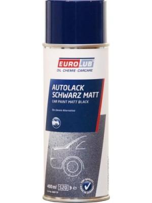 Eurolub Autolack Schwarz Matt 400ml