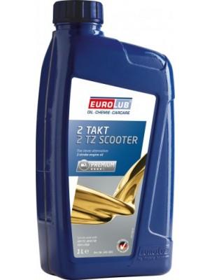 Eurolub 2 TZ Scooter teilsynthetisches 2 Takt Motorrad Motoröl 1l