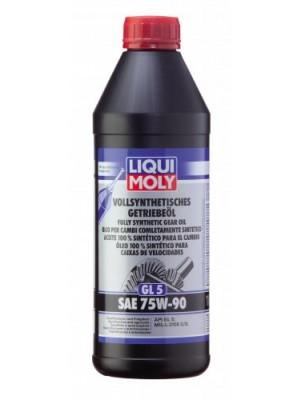 Liqui Moly Vollsynthetisches Getriebeöl GL5 SAE 75W-90 1l