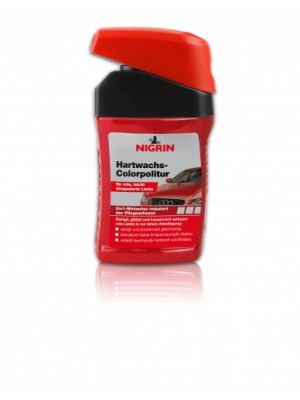 Nigrin Hartwachs-Colorpolitur rot 300ml
