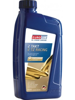 Eurolub 2 TZ Racing vollsynthetisches 2-Takt Motorrad Motoröl 1l