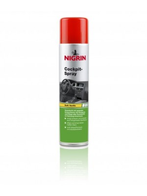 Nigrin Cockpit-Spray Vanille 400 ml
