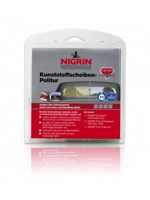Nigrin Kunststoffscheiben-Politur Set