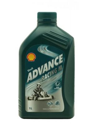 Shell Advance Racing M KART teilsynthetisches 2-Takt Motorrad Motoröl