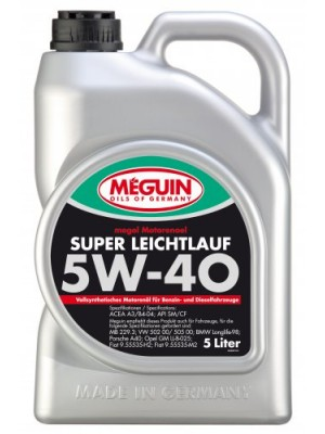 Meguin Megol Super Leichtlauf 5W-40 Motoröl 5l