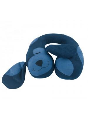 Nackenrolle Sweet Dog blau