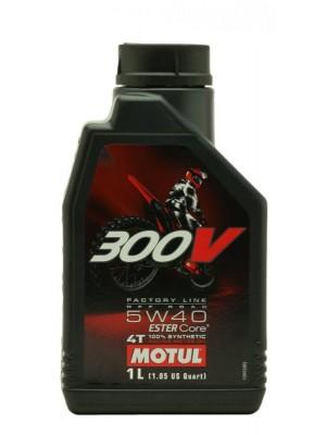 Motul 300V 4T Factory Line 5W40 Off Road Motorrad Motoröl 1l