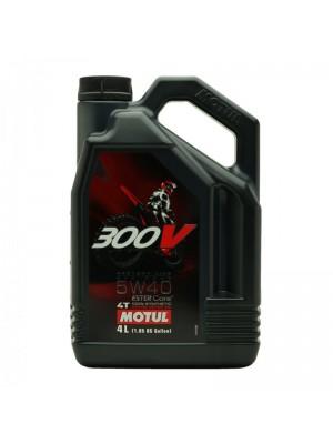 Motul 300V 4T Factory Line 5W40 Off Road Motorrad Motoröl 4l